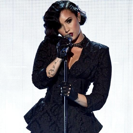 Demi Lovato's 2015 American Music Awards Lipstick Color