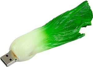 Your USB Stick Would Be Great in a Salad!