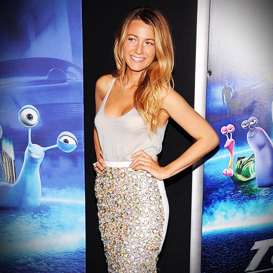 Blake Lively Fashion at Turbo Premiere | Video