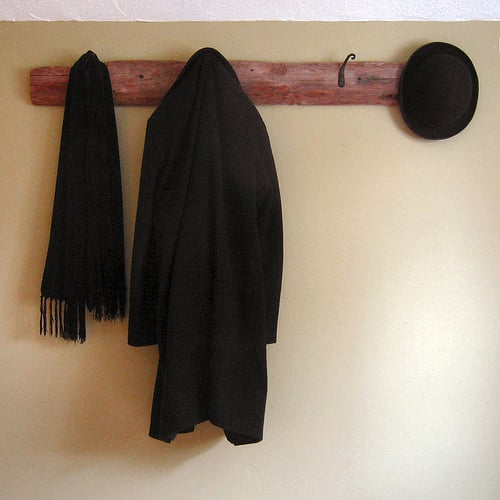 Do You Have a Coat Rack on Your Wall?