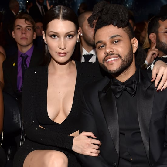 The Weeknd and Bella Hadid at the Grammys 2016