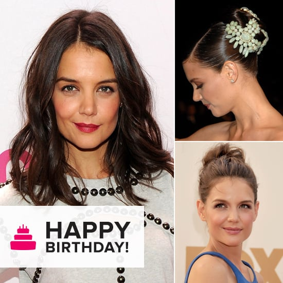 Katie Holmes: Master of the Casually Cool Hairstyle