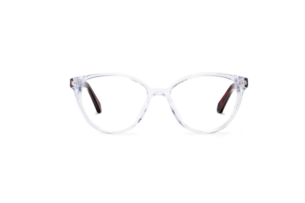 Rivet & Sway Ampersand Glasses in Crystal Clear
