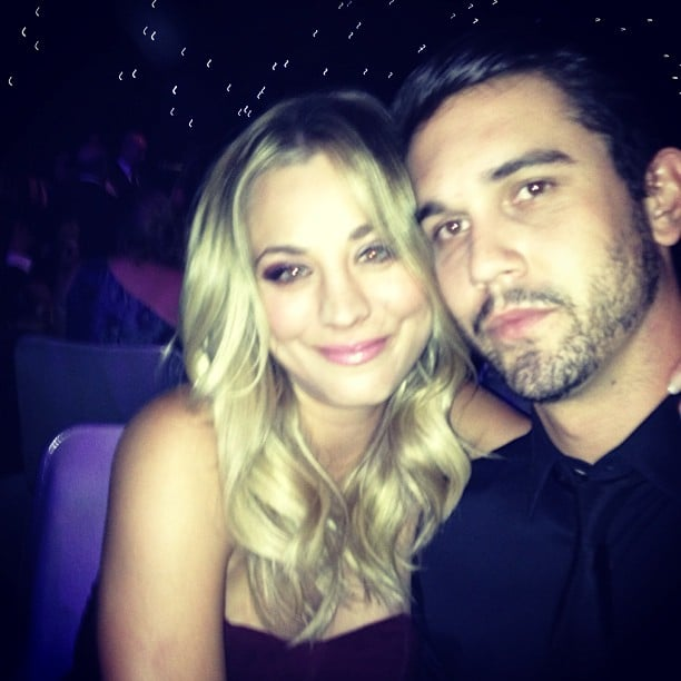 """On Emmys night, Ryan shared this photo with the caption: """"A million people, all I see is her."""" Source: Instagram user Ryan Sweeting"""