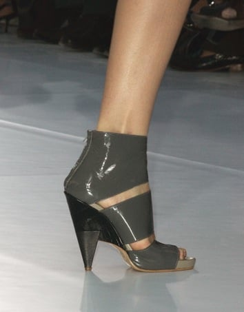The Look For Less: Chloe Patent Sandals