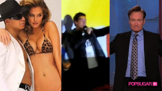 Video of Bar Refaeli With the Jersey Shore Cast For Photo Shoot, Glee Cast at The Grove in LA, and Conan O'Brien Show on TBS