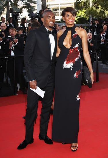 Samuel Eto'o and wife Georgette