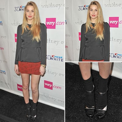 Whitney Port at Whitney Eve Fall 2012 Show