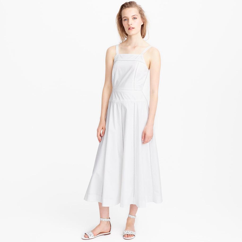 J.Crew Collection Poplin Pinafore Dress ($198)