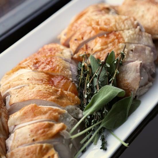 Herb-Butter Roast Turkey Recipe