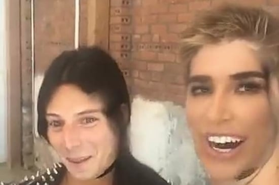 Kim Kardashian Face-Swapped With The Guy Who Invented Face-Swap
