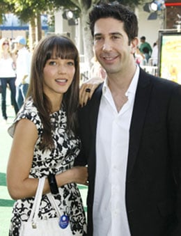 Photos of David Schwimmer and Fiancee Zoe Buckman David Schwimmer Is Engaged to English Woman