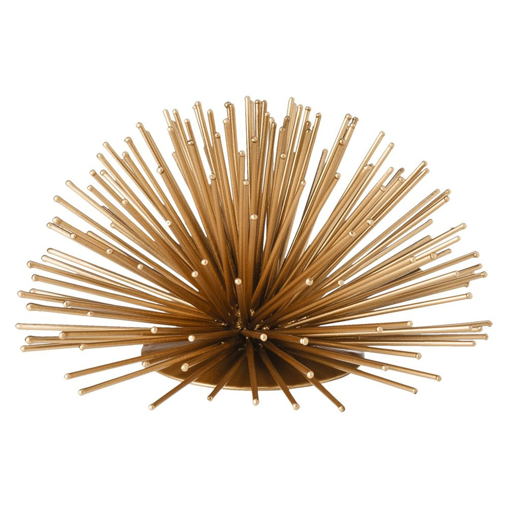 Use this urchin sculpture ($20) on your wall, coffee table, or shelves.