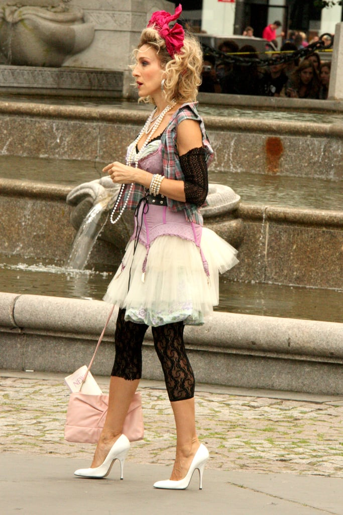 Sex and the city sarah jessica parker outfits