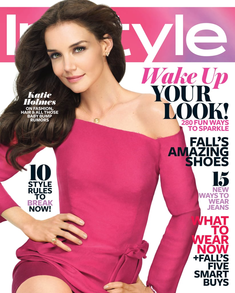 Katie Holmes Talks Suri's Fashion Sense and the Possibility of Another Baby in InStyle's August Issue
