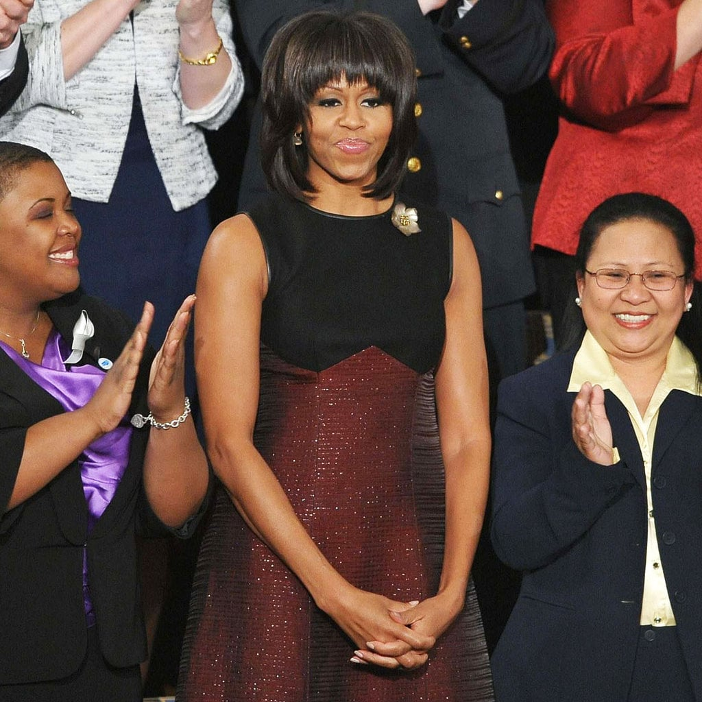 Michelle Obama knocked it out of the park by picking Jason Wu (again!) for her dress at the State of the Union.