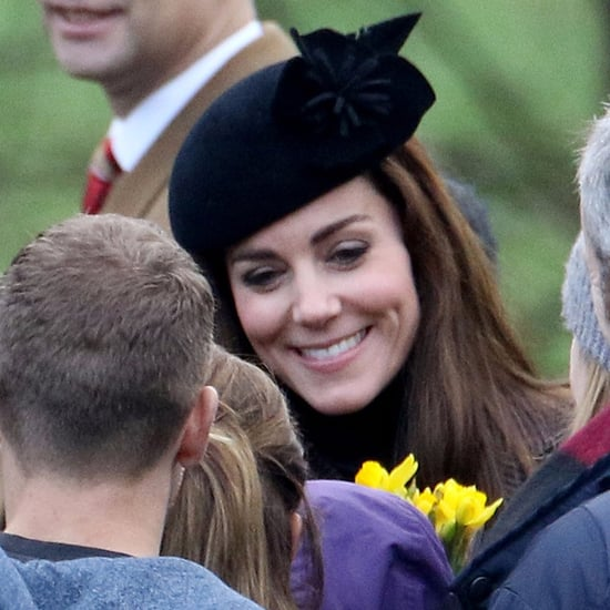 Prince William and Kate Middleton at Sunday Service 2015