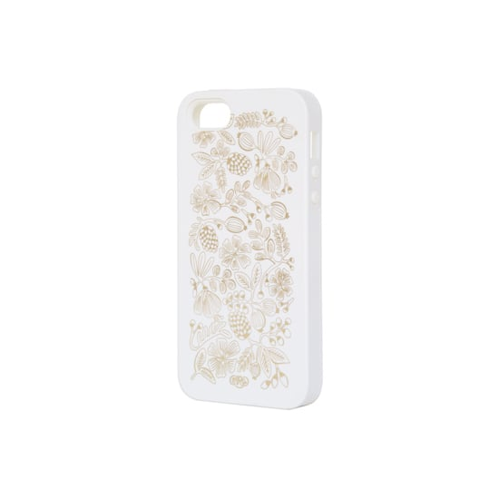 This Golden Bouquet White iPhone 5 Case ($36) is pure elegance.