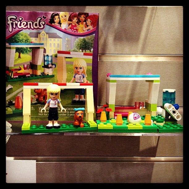 The Lego Friends collection will expand to include Stephanie's Soccer Practice kit (complete with a watercooler!).