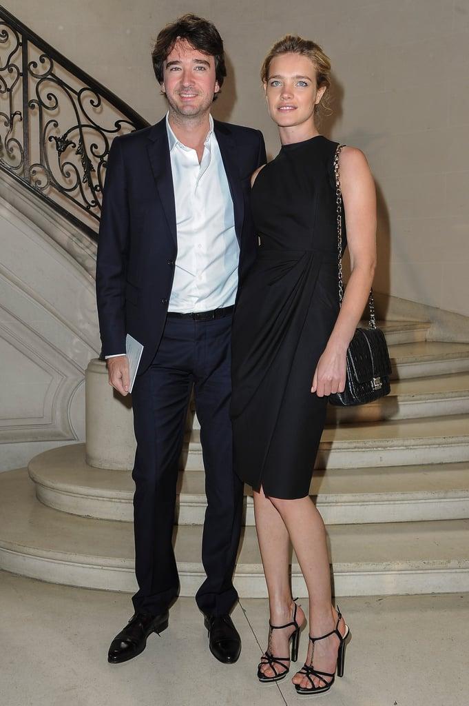 Antoine Arnault and Natalie Vodianova