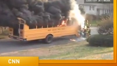 Charlotte, N.C. School Bus Driver Saves the Day