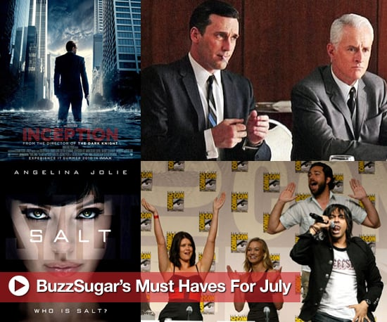 July Entertainment Must Haves in Music, TV, and Movies