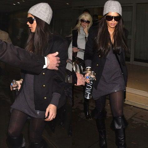 Celebrity Style: Lindsay Lohan in London