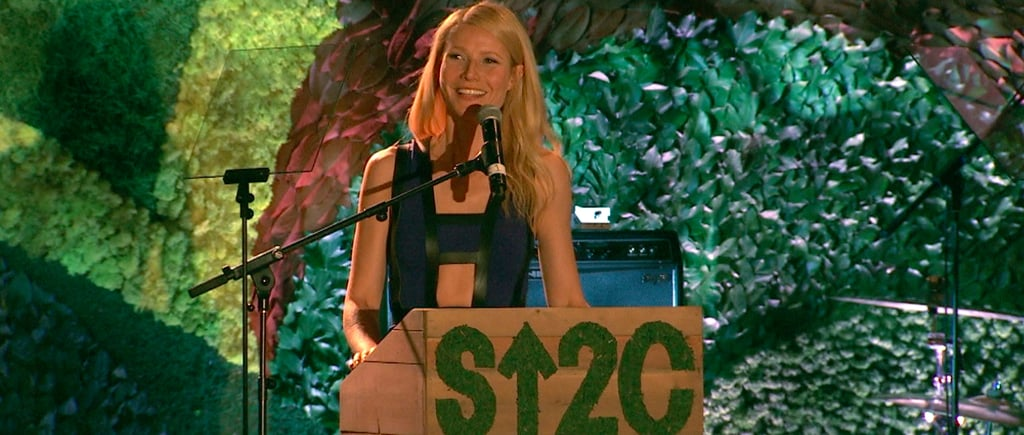 """Gwyneth Salutes the """"True Rock Stars"""" in a Room of A-Listers"""