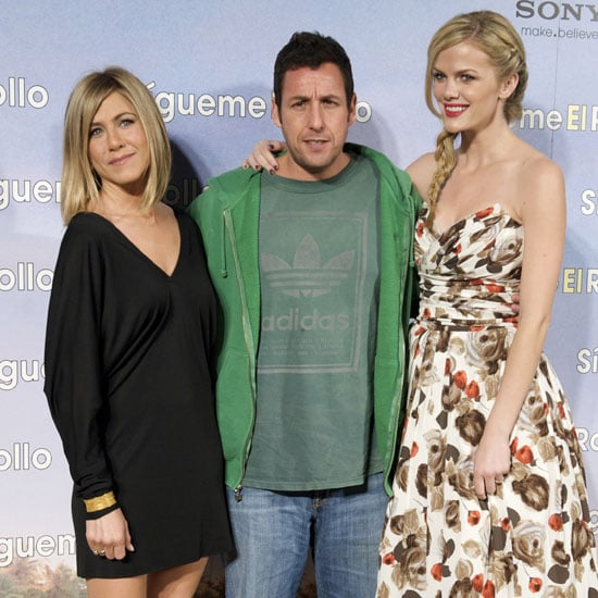 Pictures of Jennifer Aniston, Brooklyn Decker, and Adam Sandler at Just Go With It Premiere in Madrid 2011-02-23 02:01:36