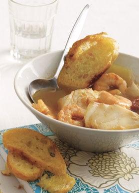 Fast & Easy Dinner: Simple Bouillabaisse