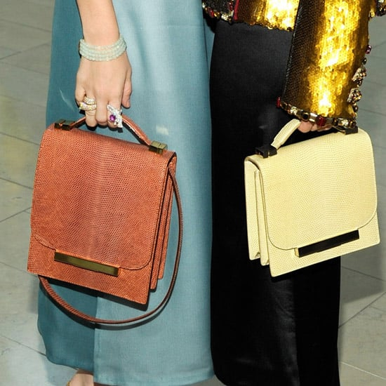 Structured Top-Handle Satchels for Summer and Fall 2011