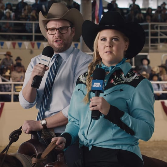 Amy Schumer and Seth Rogen's Bud Light Super Bowl Commercial