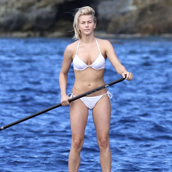 Julianne Hough in White Bikini Pictures