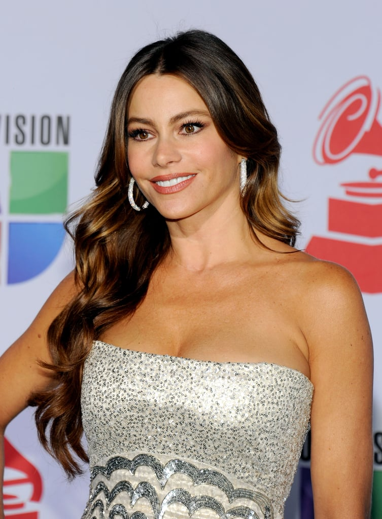 Sofia Vergara in a sparkling dress at the 12th annual Latin Grammy Awards.