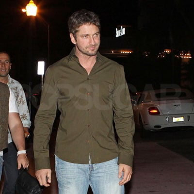 Gerard Butler Celebrates NYE in Miami