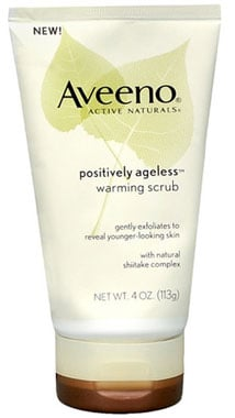Doing Drugstore: Aveeno Positively Ageless Warming Scrub
