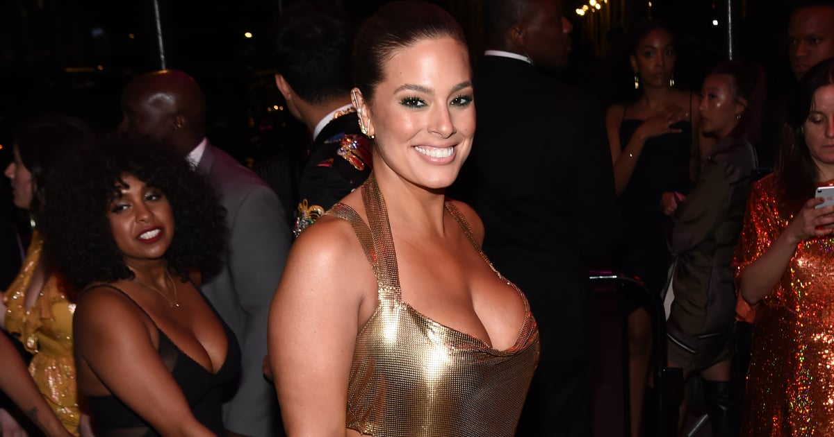 0bb383d2fa Ashley Graham's Gold Afterparty Dress Was So Sexy It Almost Dripped Right  Off Her POPSUGAR - 13 days ago