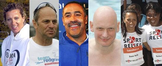 Pop Quiz on British Olympians Sally Gunnell, Steve Redgrave, Tessa Sanderson, Daley Thompson, Duncan Goodhew, Kelly Holmes