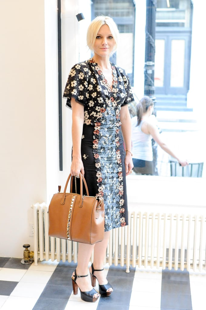 Laura Brown wore Bottega Veneta to Acne Studio's launch party for Bruce of Los Angeles Rodeo in New York.  Source: Neil Rasmus/BFAnyc.com