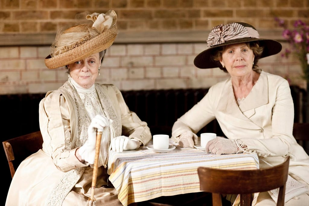 """""""Your quarrel is with my daughter, Rosamund, and not with me. So put that in your pipe and smoke it."""" Photo courtesy PBS"""
