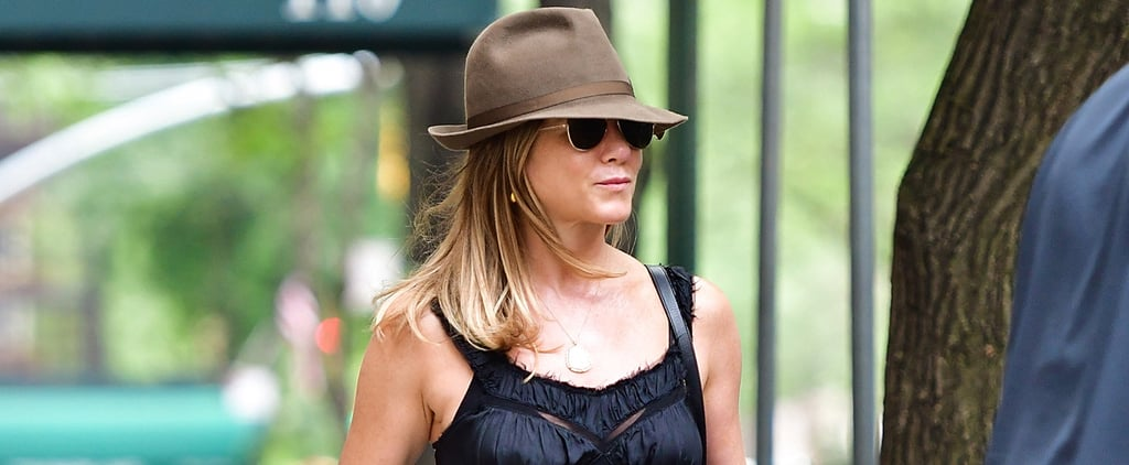 Jennifer Aniston Just Pulled the Shoe Switch-Up of the Summer