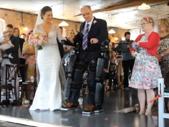 Paralyzed Father Uses Robotic Suit to Walk Daughter Down Aisle on Her Wedding Day