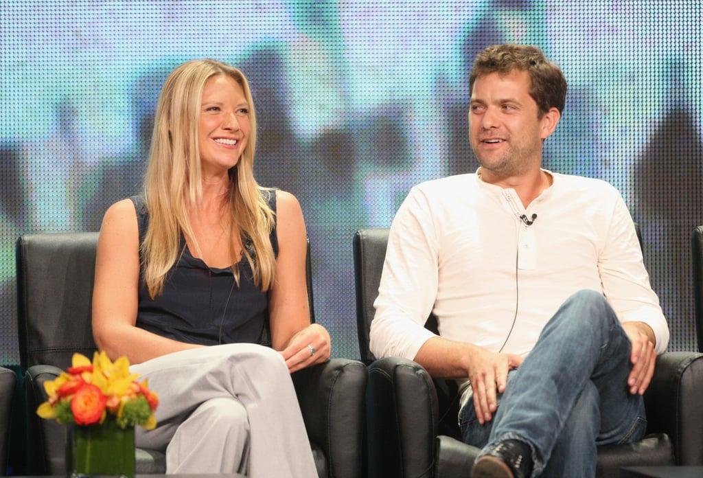 Anna Torv and Joshua Jackson sat down at the TCAs.