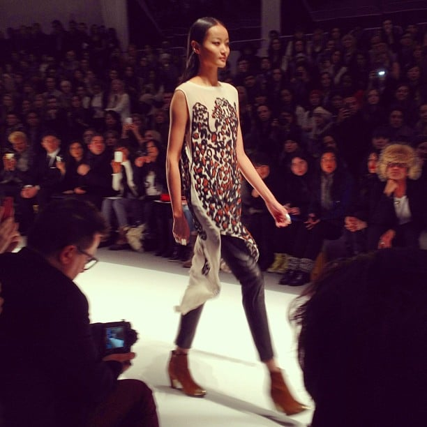 Mara Hoffman showcased her signature lively prints for Fall.