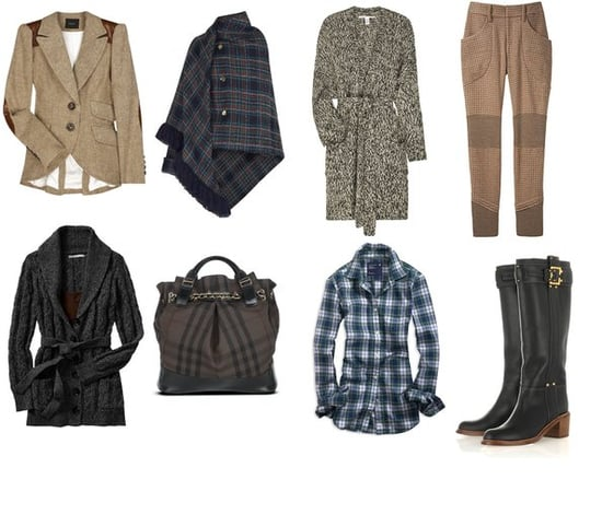 Shopping: Country Weekend Tweeds and Plaids