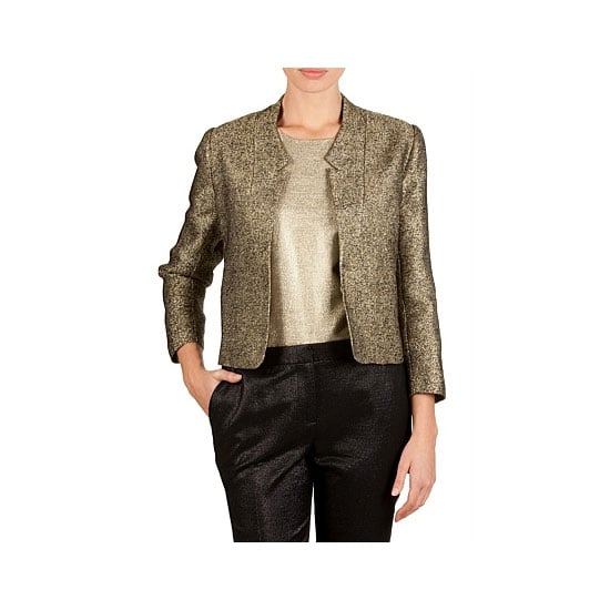 I saw quite a few metallic jackets (particularly of the bomber variety) in street style snaps from MBFWA and have decided to add one to my wardrobe because a) they're more interesting than my black blazer, b) add something special to nighttime looks, and c) this gold one will go with most things I own.— Jess, celebrity and entertainment editor Jacket, $299, Country Road