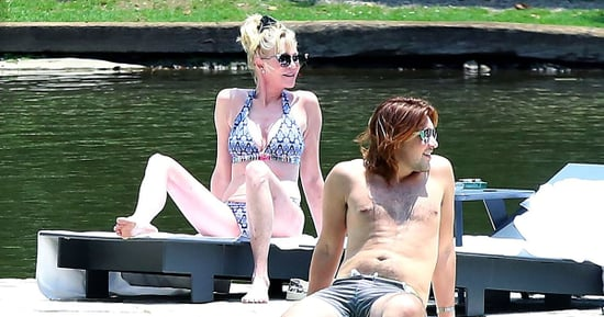 Melanie Griffith, 58, Works Curves in Patterned Bikini in Mexico