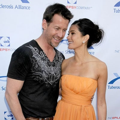 Teri Hatcher and James Denton at the Comedy For A Cure Event