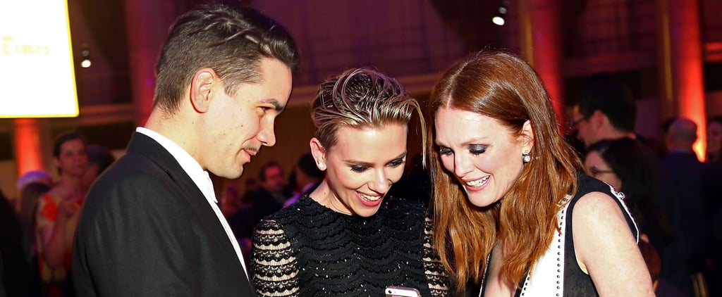 Scarlett Johansson Introduces Her New Husband to Hollywood's A-List