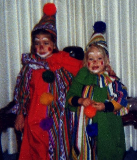 Timeless Sibling Themes For Halloween: Clowns